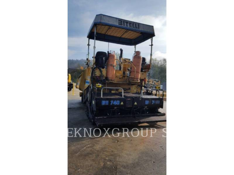 CATERPILLAR ASPHALT PAVERS BB-740 equipment  photo 4