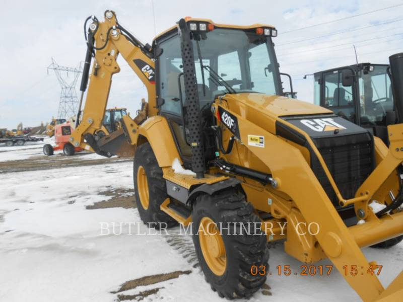 CATERPILLAR BACKHOE LOADERS 420 F 2 equipment  photo 2