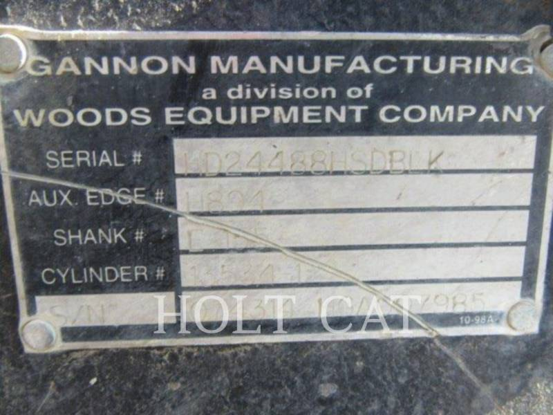 CATERPILLAR CARGADOR INDUSTRIAL 414E equipment  photo 13