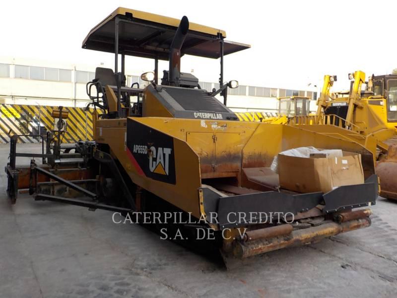 CATERPILLAR PAVIMENTADORA DE ASFALTO AP-655D equipment  photo 1
