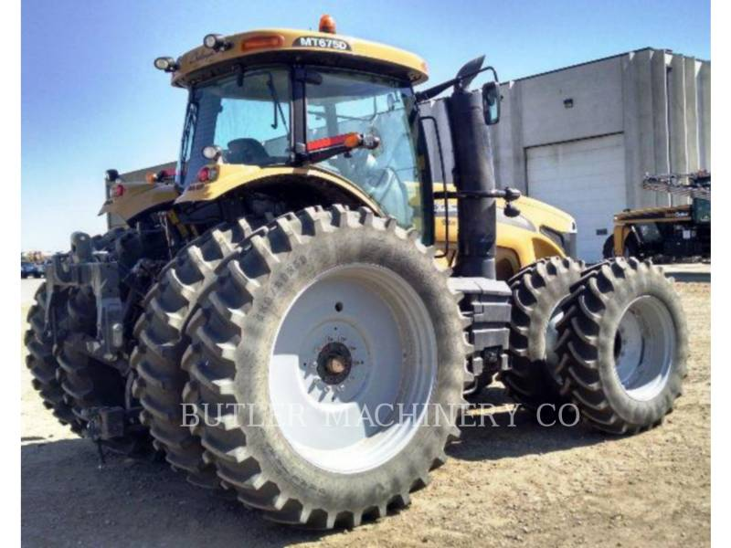 AGCO-CHALLENGER LANDWIRTSCHAFTSTRAKTOREN MT675D equipment  photo 6