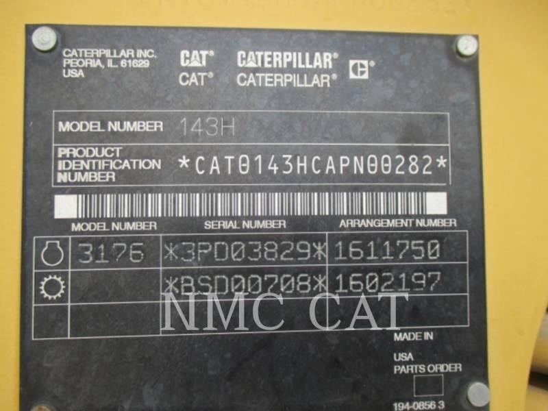 CATERPILLAR MOTONIVELADORAS 143H equipment  photo 6