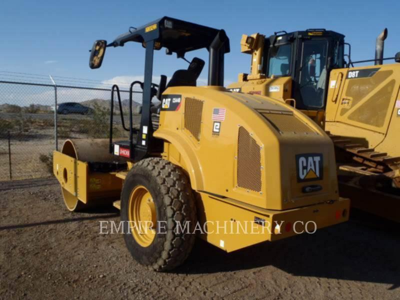 CATERPILLAR SOPORTE DE TAMBOR ÚNICO VIBRATORIO CS44B equipment  photo 3