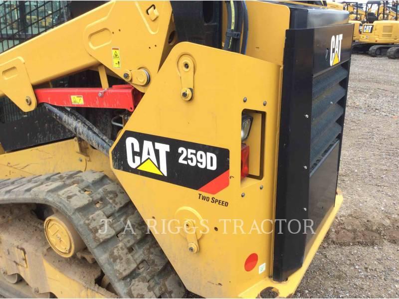 CATERPILLAR CARGADORES MULTITERRENO 259D A equipment  photo 24
