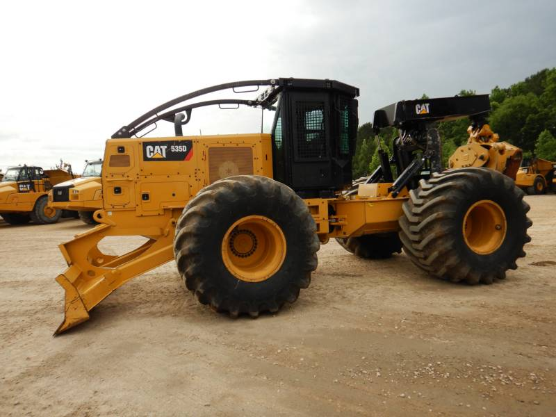 CATERPILLAR FORSTWIRTSCHAFT - HOLZRÜCKER 535D equipment  photo 1
