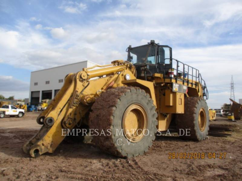 CATERPILLAR PALE GOMMATE/PALE GOMMATE MULTIUSO 992KLRC equipment  photo 1