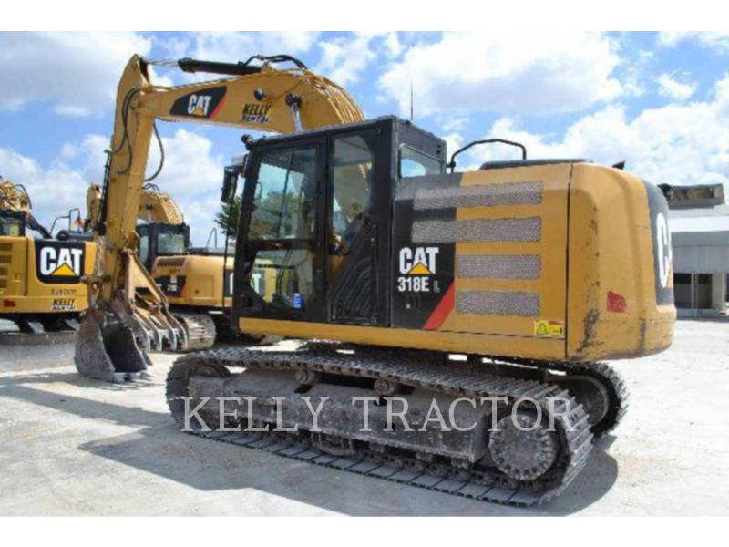 CATERPILLAR EXCAVADORAS DE CADENAS 318EL equipment  photo 5