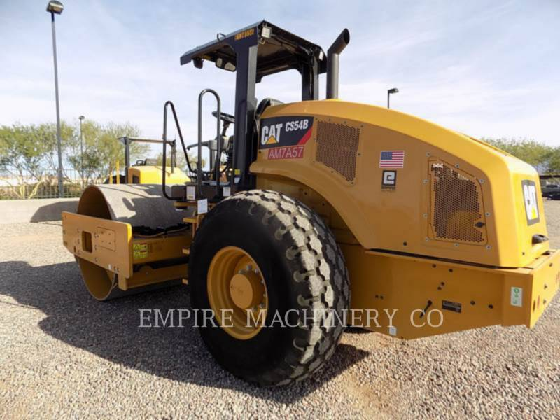 CATERPILLAR TRILLENDE ENKELE TROMMEL GLAD CS54B equipment  photo 3
