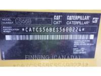 CATERPILLAR COMPACTEURS CS56B equipment  photo 10