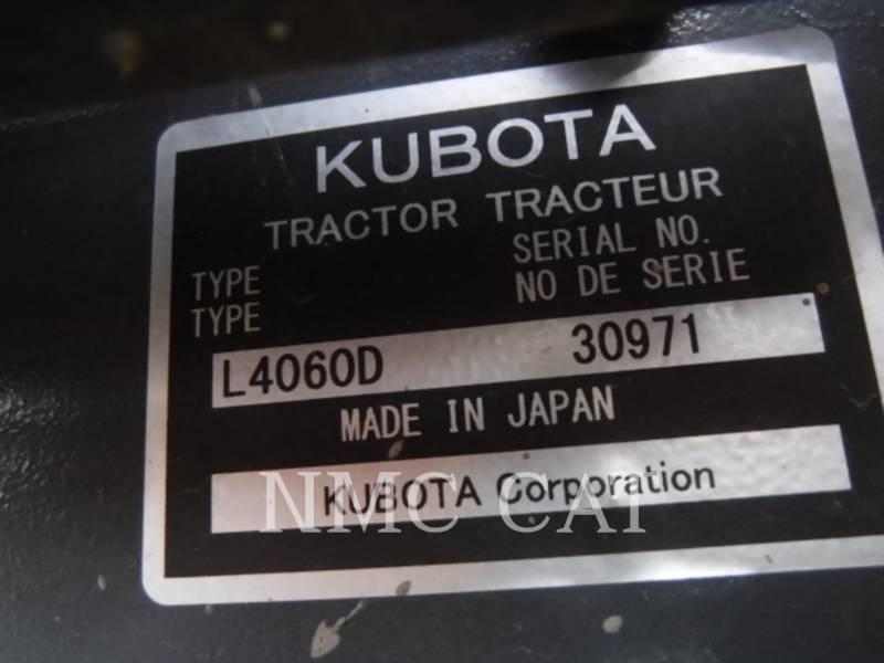 KUBOTA CORPORATION LANDWIRTSCHAFTSTRAKTOREN L4060_KU equipment  photo 6