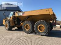 CATERPILLAR KNICKGELENKTE MULDENKIPPER 745C equipment  photo 2
