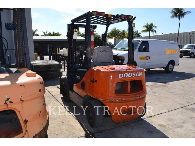 DOOSAN INFRACORE AMERICA CORP. FORKLIFTS D30S-5 equipment  photo 5