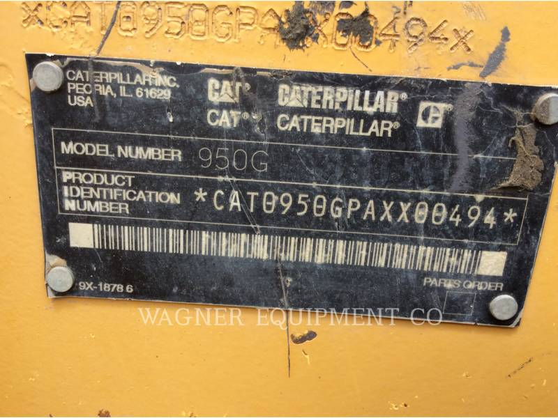 CATERPILLAR PALE GOMMATE/PALE GOMMATE MULTIUSO 950G II equipment  photo 13
