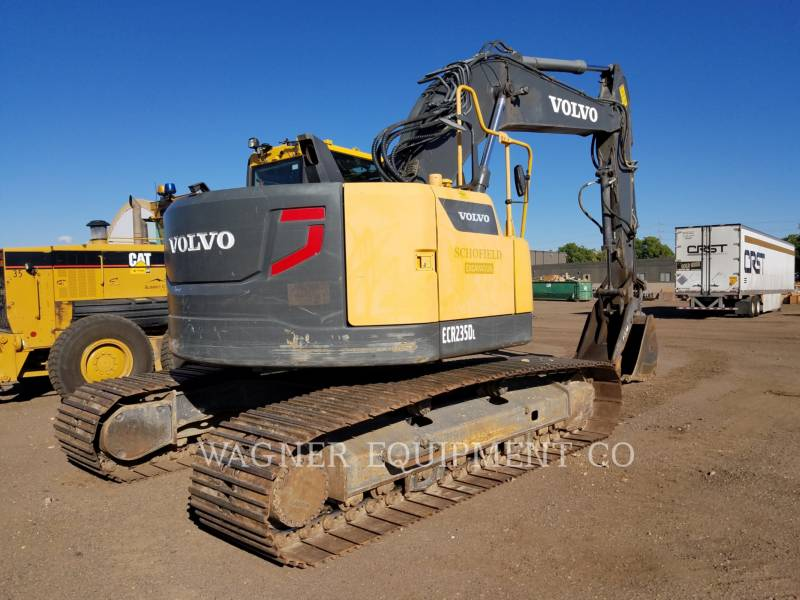 VOLVO CONSTRUCTION EQUIPMENT EXCAVADORAS DE CADENAS ECR 235DL equipment  photo 3
