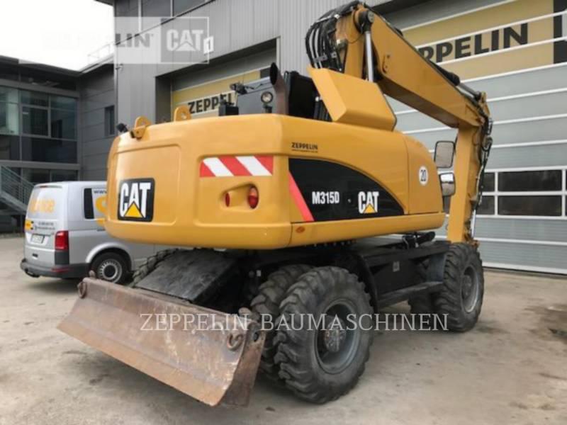 CATERPILLAR PELLES SUR PNEUS M315D equipment  photo 5