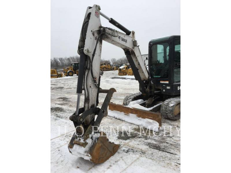 BOBCAT PELLE MINIERE EN BUTTE E45 equipment  photo 1