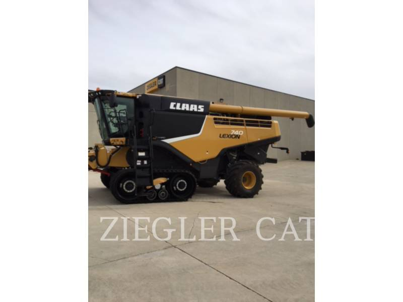 LEXION COMBINE COMBINADOS 740TT equipment  photo 1