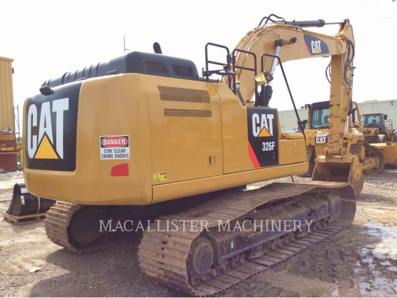 CATERPILLAR PELLES SUR CHAINES 326FL equipment  photo 5