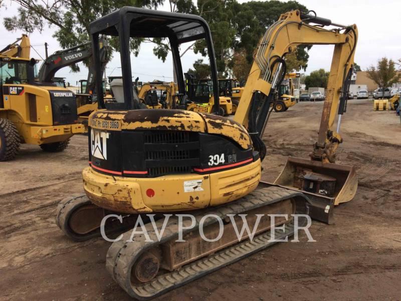 CATERPILLAR TRACK EXCAVATORS 304CR equipment  photo 4