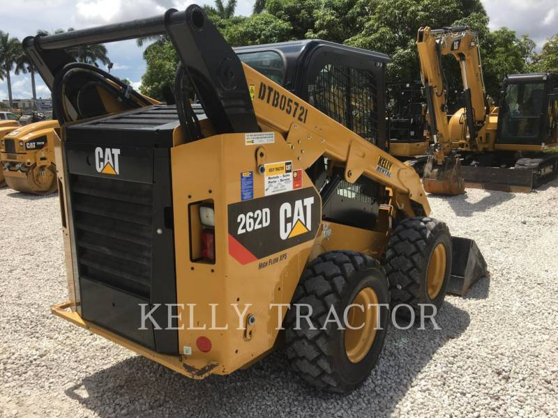 CATERPILLAR MINICARREGADEIRAS 262D equipment  photo 5