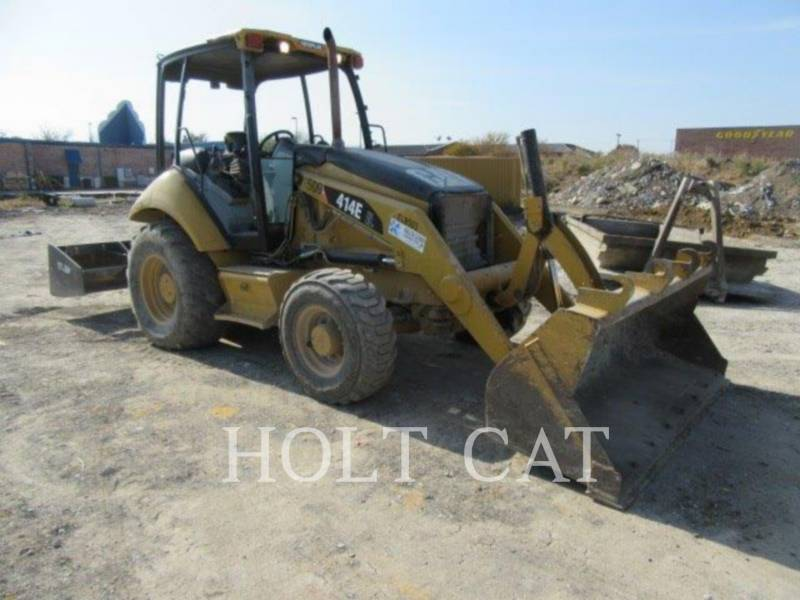 CATERPILLAR CHARGEUSES-PELLETEUSES 414E IL equipment  photo 1