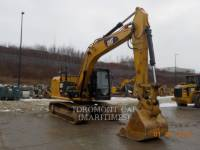 Equipment photo CATERPILLAR 318EL TRACK EXCAVATORS 1
