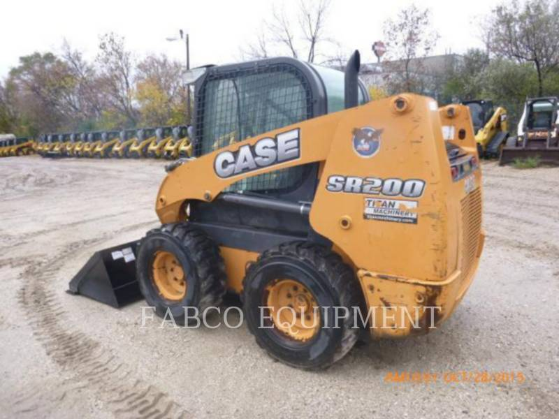 CASE/NEW HOLLAND CARREGADEIRAS TODO TERRENO SR200 equipment  photo 2