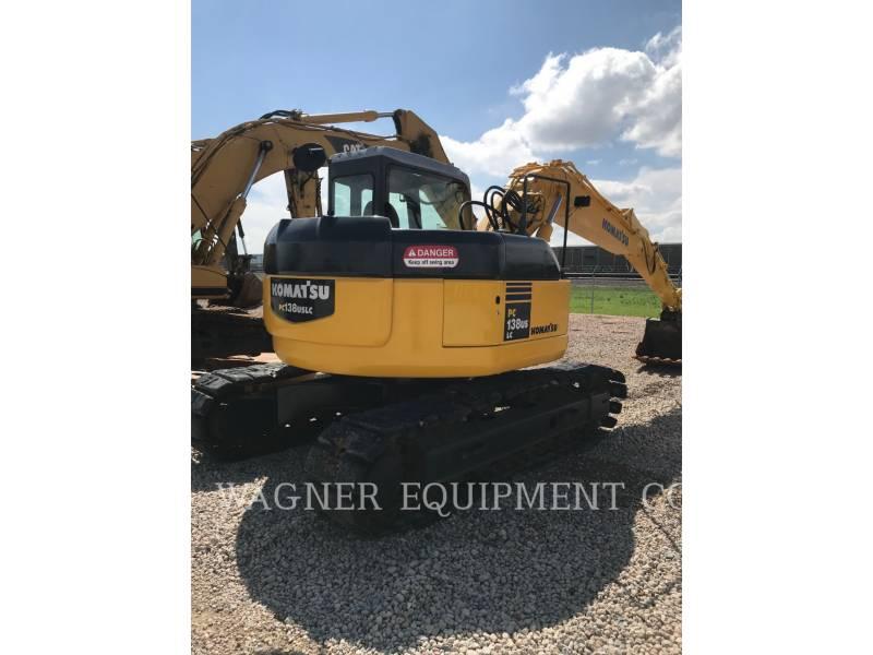 KOMATSU TRACK EXCAVATORS PC138USLC2 equipment  photo 9