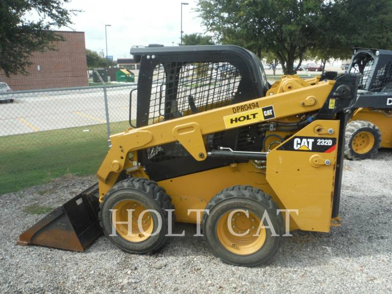 CATERPILLAR MINICARGADORAS 232D equipment  photo 8