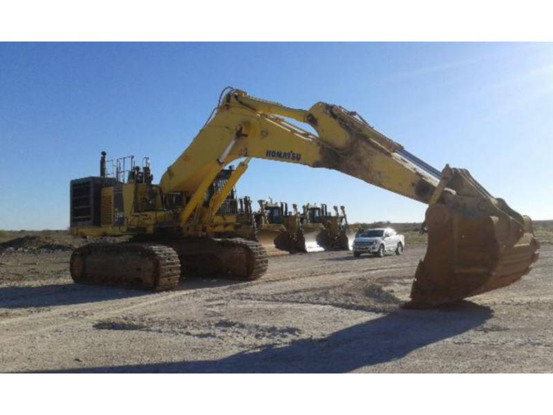 KOMATSU LTD. TRACK EXCAVATORS PC1250-8R equipment  photo 1