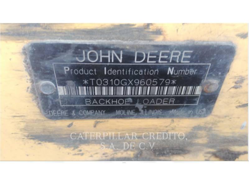 JOHN DEERE BACKHOE LOADERS 310G equipment  photo 3