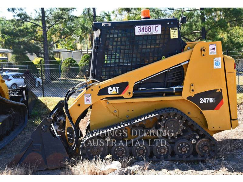 CATERPILLAR DELTALADER 247B3LRC equipment  photo 6