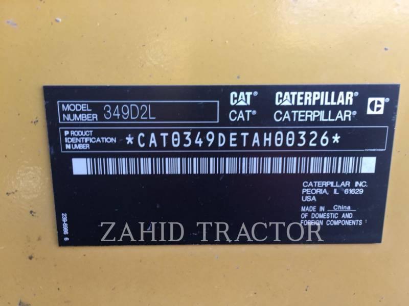 CATERPILLAR ESCAVATORI CINGOLATI 349D2L equipment  photo 1