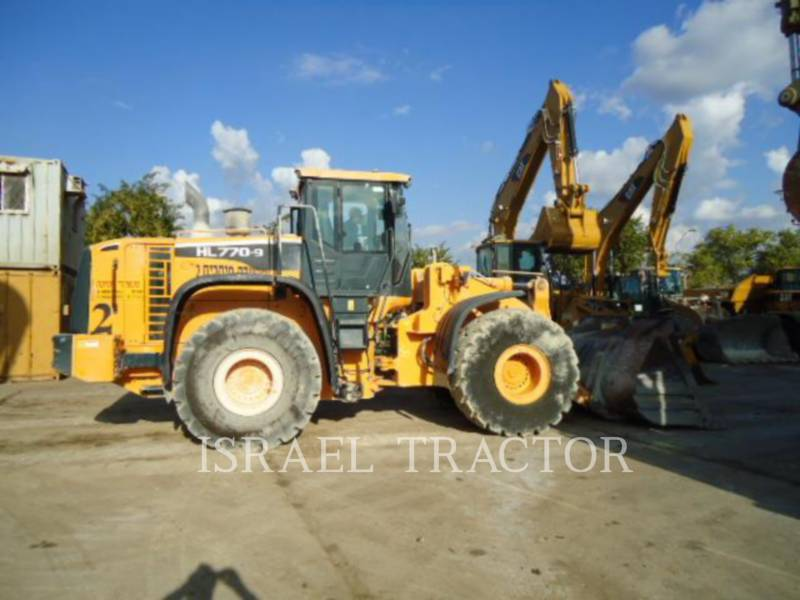 HYUNDAI CONSTRUCTION EQUIPMENT CHARGEURS SUR PNEUS/CHARGEURS INDUSTRIELS HL770-9 equipment  photo 1