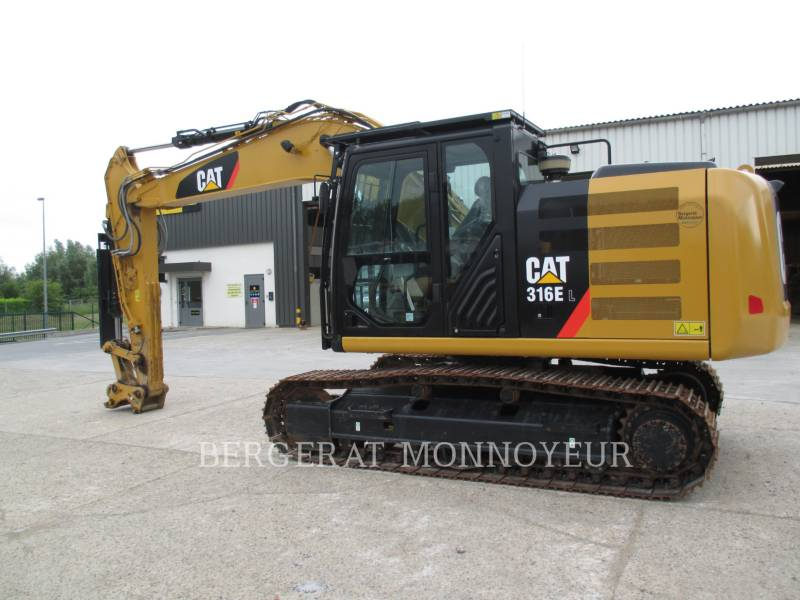 CATERPILLAR TRACK EXCAVATORS 316E equipment  photo 1