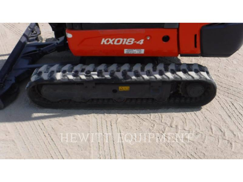 KUBOTA CANADA LTD. TRACK EXCAVATORS KX018-4 equipment  photo 12