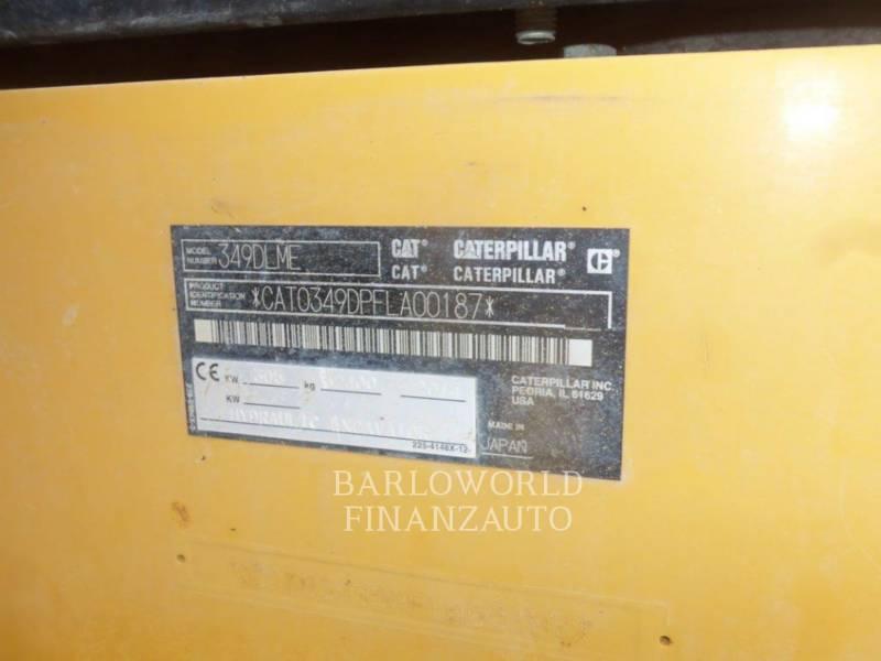 CATERPILLAR KOPARKI GĄSIENICOWE 349D equipment  photo 4