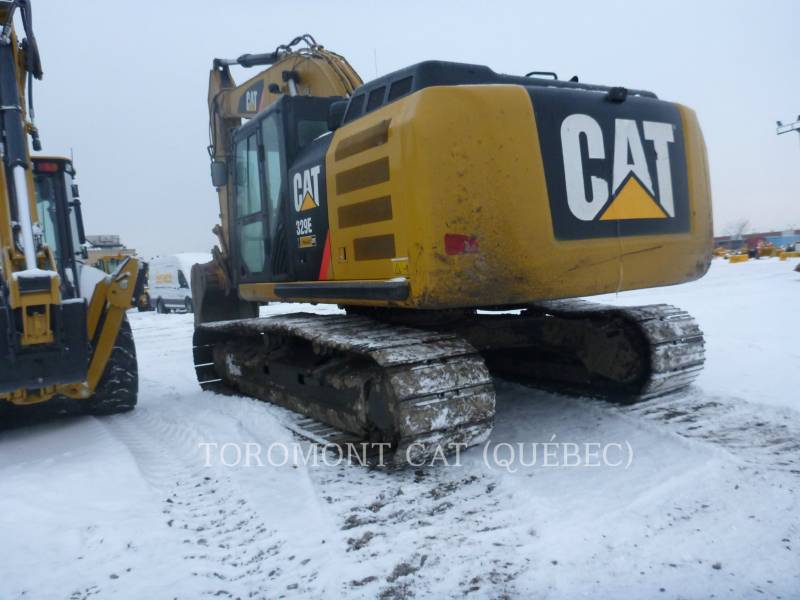 CATERPILLAR KETTEN-HYDRAULIKBAGGER 329EL equipment  photo 4