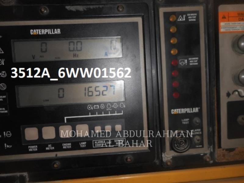 CATERPILLAR POWER MODULES 3512 equipment  photo 1