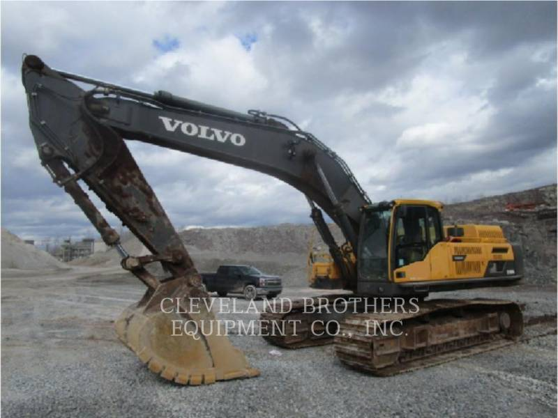 VOLVO CONSTRUCTION EQUIPMENT TRACK EXCAVATORS EC480DL equipment  photo 1