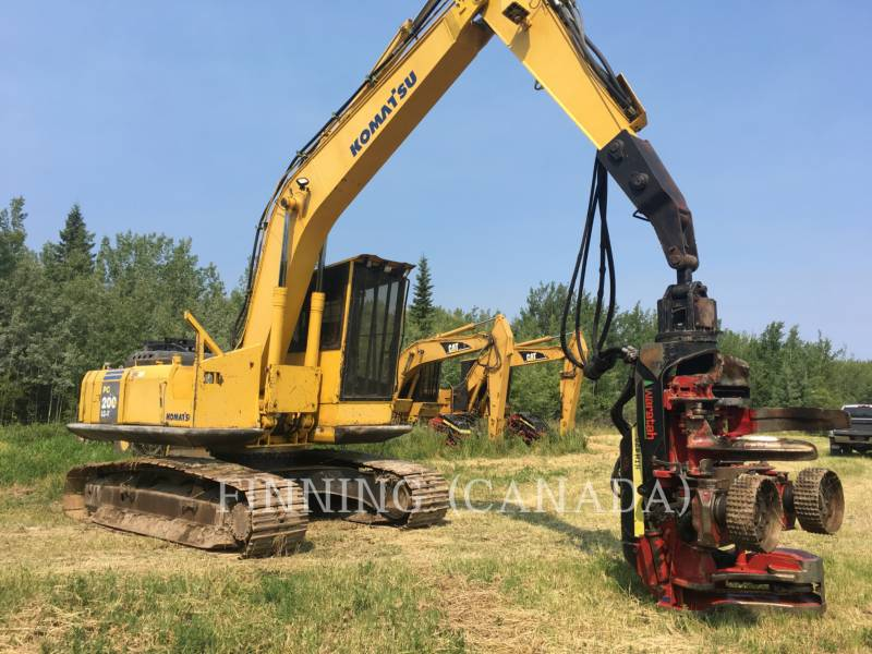 KOMATSU Leśnictwo - Rozdrabniacz PC200LC-7 equipment  photo 1