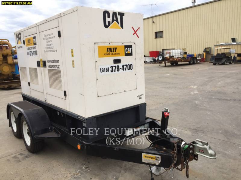 CATERPILLAR PORTABLE GENERATOR SETS XQ60 equipment  photo 4
