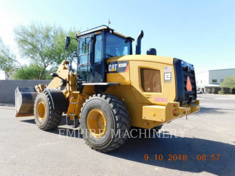 CATERPILLAR RADLADER/INDUSTRIE-RADLADER 926M equipment  photo 3