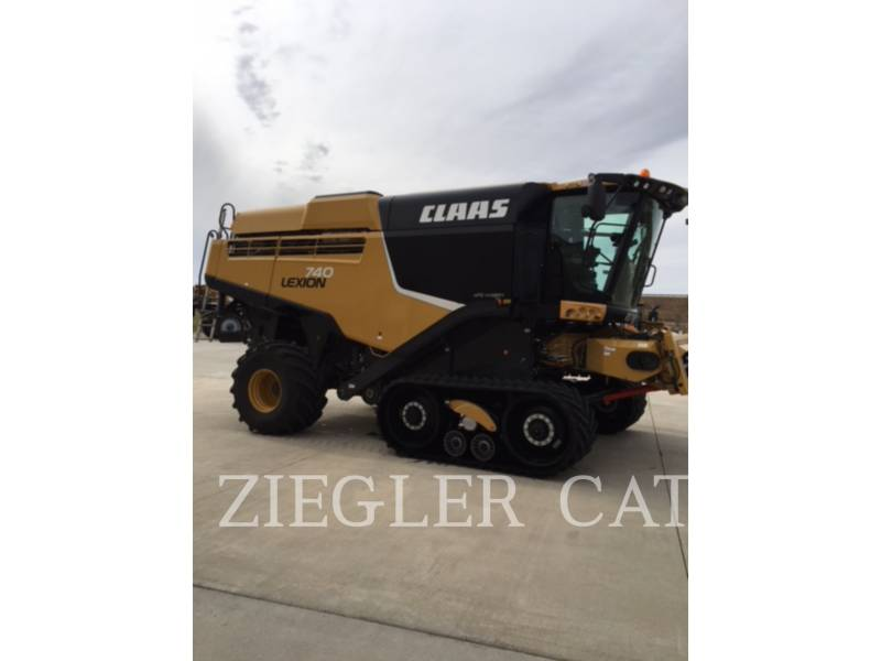 LEXION COMBINE COMBINADOS 740TT equipment  photo 2