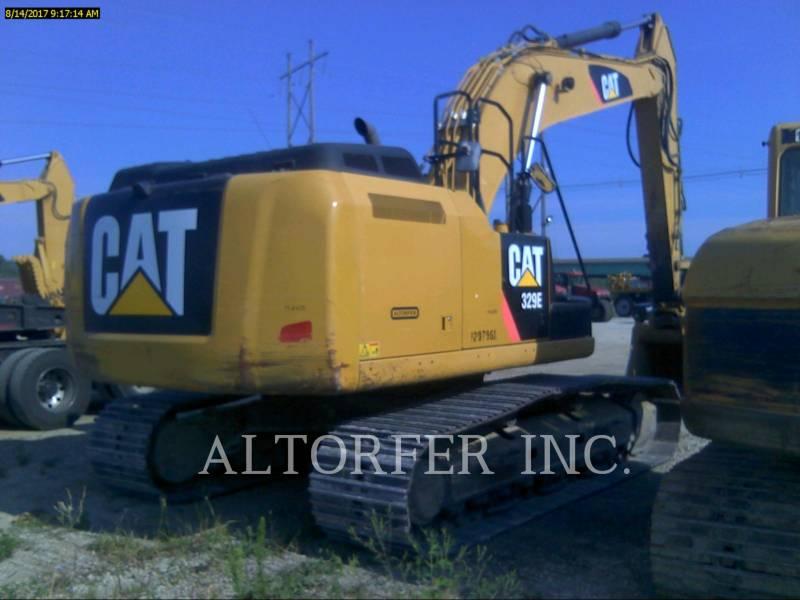 CATERPILLAR TRACK EXCAVATORS 329EL TH equipment  photo 4