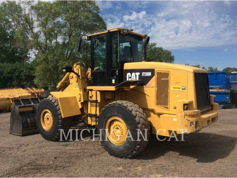 CATERPILLAR WHEEL LOADERS/INTEGRATED TOOLCARRIERS IT38H 3R equipment  photo 4