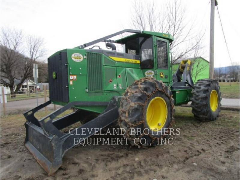 DEERE & CO. FORESTRY - SKIDDER 640L equipment  photo 1