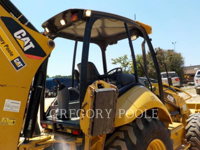 CATERPILLAR BACKHOE LOADERS 420E equipment  photo 9