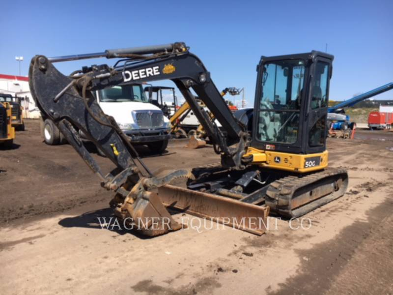 DEERE & CO. TRACK EXCAVATORS 50G equipment  photo 1