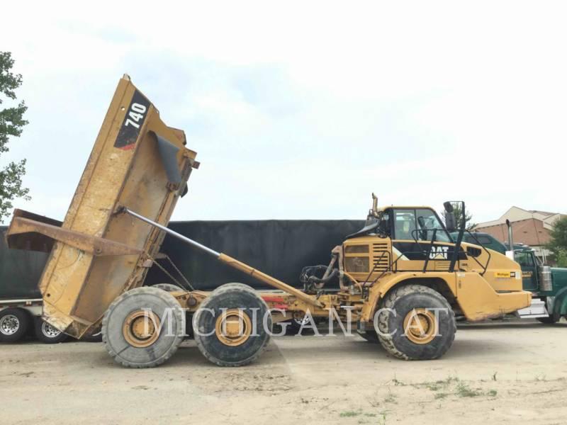 CATERPILLAR CAMIONES ARTICULADOS 740 T equipment  photo 3